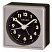 Detailed image of Seiko QHE083SLH Travel Alarm Clock