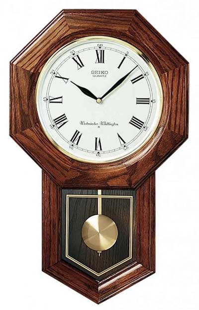Seiko QXH102BC Schoolhouse Chiming Wall Clock