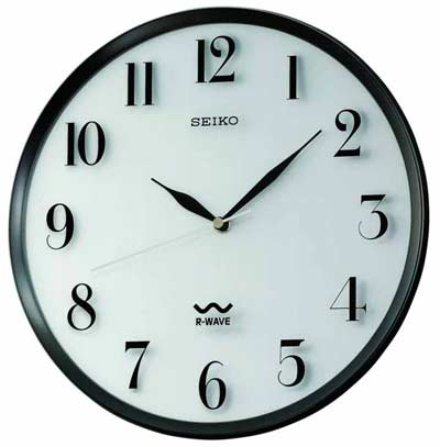 Seiko QXR131SLH Atomic Wall Clock