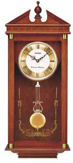 Seiko QXH107BLH Chiming Traditional Wall Clock
