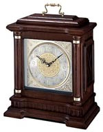 Seiko QXJ004BLH Oak Carriage Chiming Mantel Clock